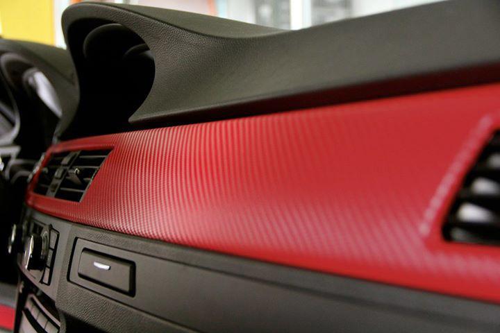 blood red carbon fiber by vvivid8 5ft x 5ft 3d vinyl car vehicle wrap film ebay. Black Bedroom Furniture Sets. Home Design Ideas