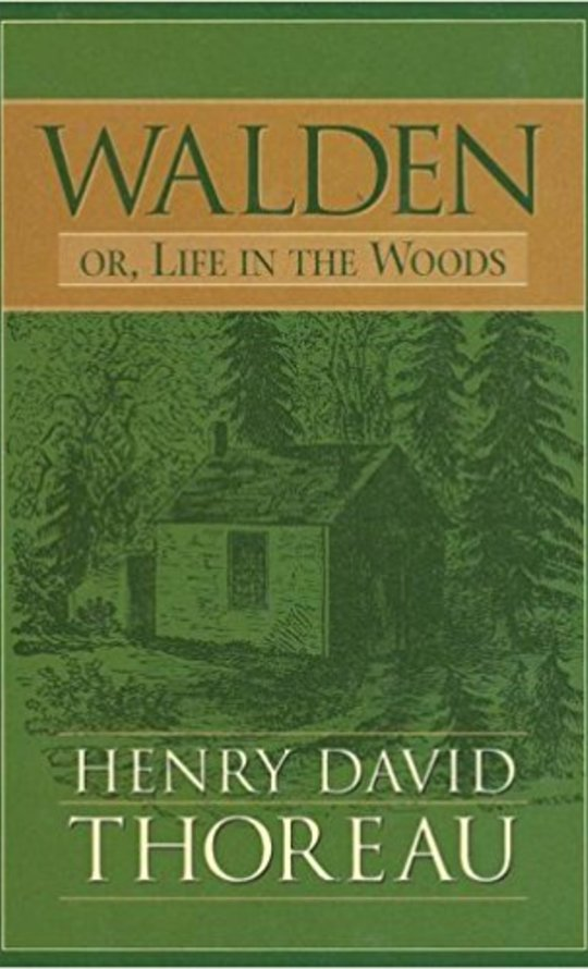 a review of henry davis thoreaus book waldern Henry david thoreau's walden, or, life in the woods, first published in 1854, has had a vital and lasting impact on american thought and culture like the ripples on a pond into which a stone has been thrown, the concentric rings of walden's impact seem to grow (or.