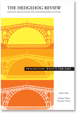 Pragmatism: What's the Use?