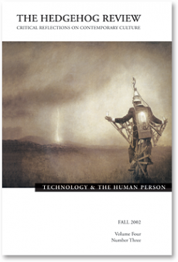 Technology and the Human Person