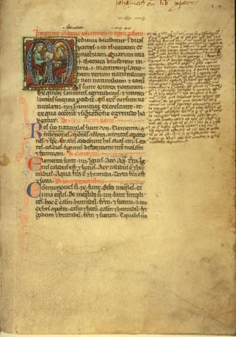 Hunayn ibn Ishaq al-'Ibadi, 809?-873 (known as Joannitius). Isagoge Johannitii in Tegni Galeni.