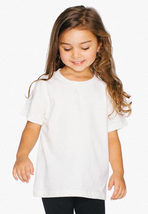 American Apparel 2105w Kids Short Sleeve T Shirt