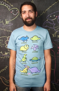 Know Your Dinosaurs, $10 aka Ten Washingtons! + Threadless Collection