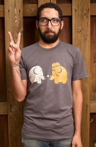 Mammoths were Hippies, Was $9.95 - Now $8.99! + Threadless Collection