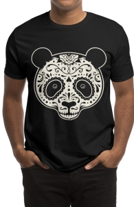 Day of the Dead Panda, Staff Picks + Threadless Collection