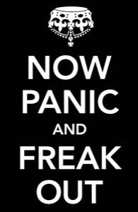 Now Panic and Freak Out: iPad Case, iPad cases + Threadless Collection