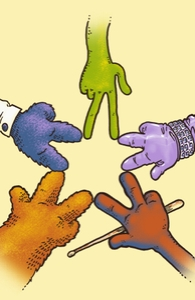 Together Reaching For The Star: Muppets DTG