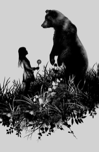 The Bear Encounter, Wall Art + Threadless Collection