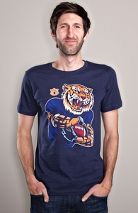 Powerful Aubie: Auburn College Winner, College Tees + Threadless Collection