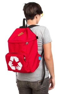Rock Paper Scissors Recycled: Backpack, Backpacks + Threadless Collection