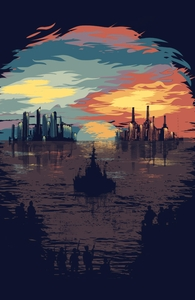 Ready for Battle, Landscapes & Cityscapes + Threadless Collection