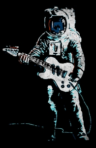 Spacemen Rock: Threadless Guys Pima Tee