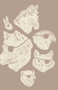Animals With Eyepatches! Yes!: Threadless Pet Bed, Staff Tee-less Picks + Threadless Collection