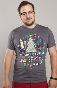 Making Christmas, The Nightmare Before Christmas + Threadless Collection