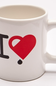 I Love Coffee: 12 oz Mug, Mugs + Threadless Collection