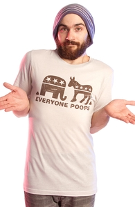 Everyone Poops, $10 aka Ten Washingtons! + Threadless Collection