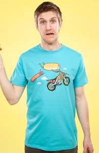 Motocross Accident, $15 aka Three Lincolns! + Threadless Collection