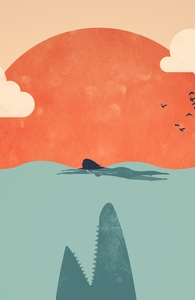 Shark Attack, Illustration + Threadless Collection