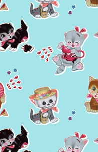 Zombie Cats: Guys Board Trunks