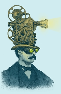 The Projectionist, Illustration + Threadless Collection