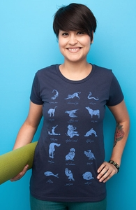 Animal Yogis, New and Top Selling Cute T-Shirts + Threadless Collection