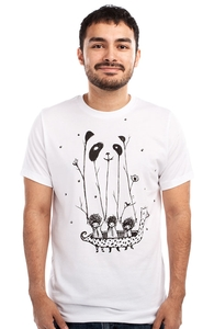 Fake Pandas Have More Fun, Most Reprint Requests + Threadless Collection