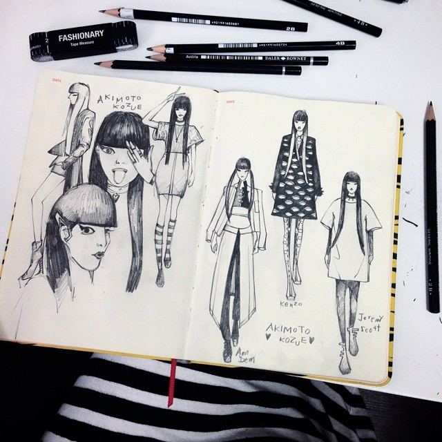 Fashion Designers Black And White