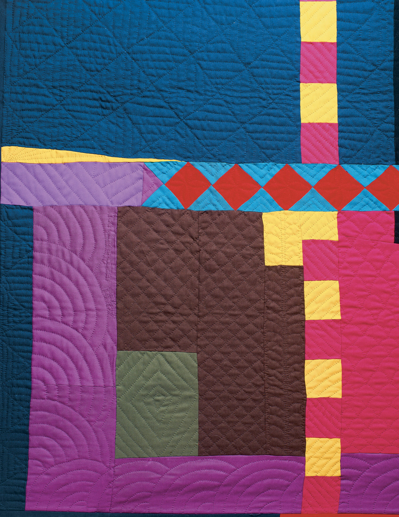 Freehand quilting effects 2