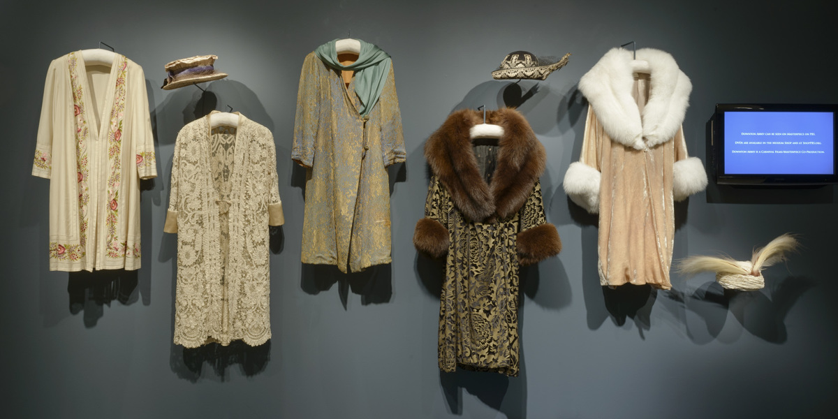 luxurious coats worn by these characters