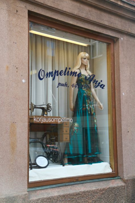 Dressmaker shop