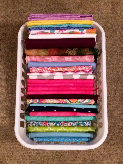 Fold thin fabrics