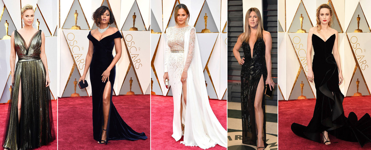 2017 Oscars red carpet fashion