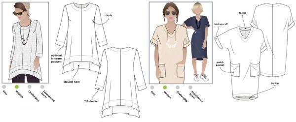 StyleArc Daisy Designer Tunic