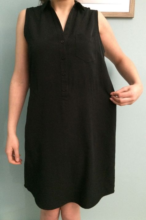 Cinch A Dress With An Elastic Casing