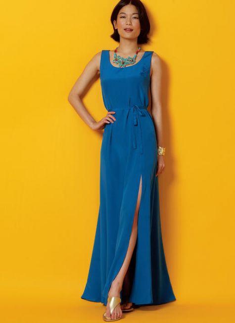 Maxi Summer Dress Pattern