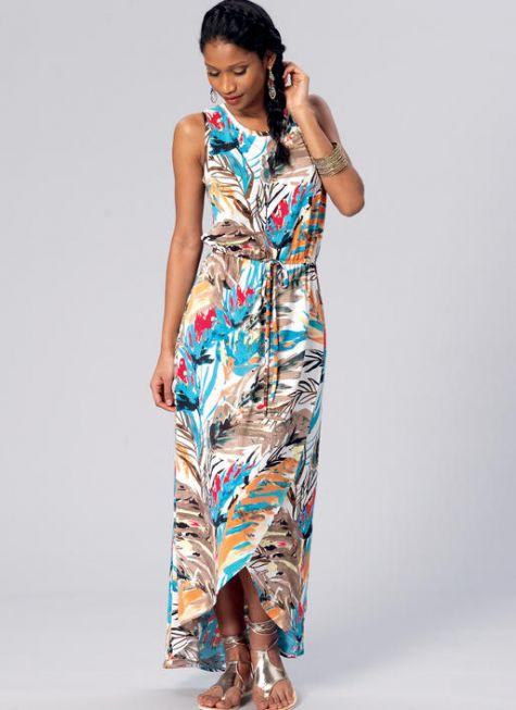 Pattern Roundup: Summer 2016 Maxi Dresses - Threads