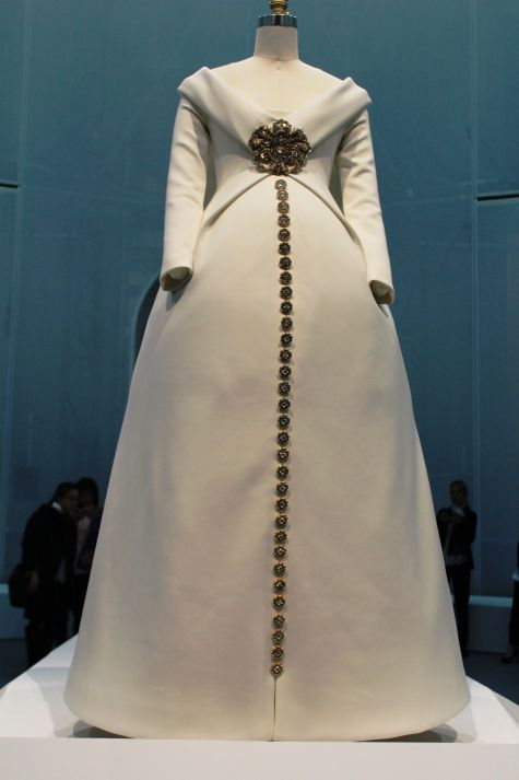 karl lagerfeld wedding gown