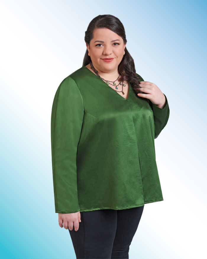 0b06b7217ee Kathleen Cheetham s article from Threads  185 (June July 2016) describes  how to best fit sleeves for women with fuller arms. She writes