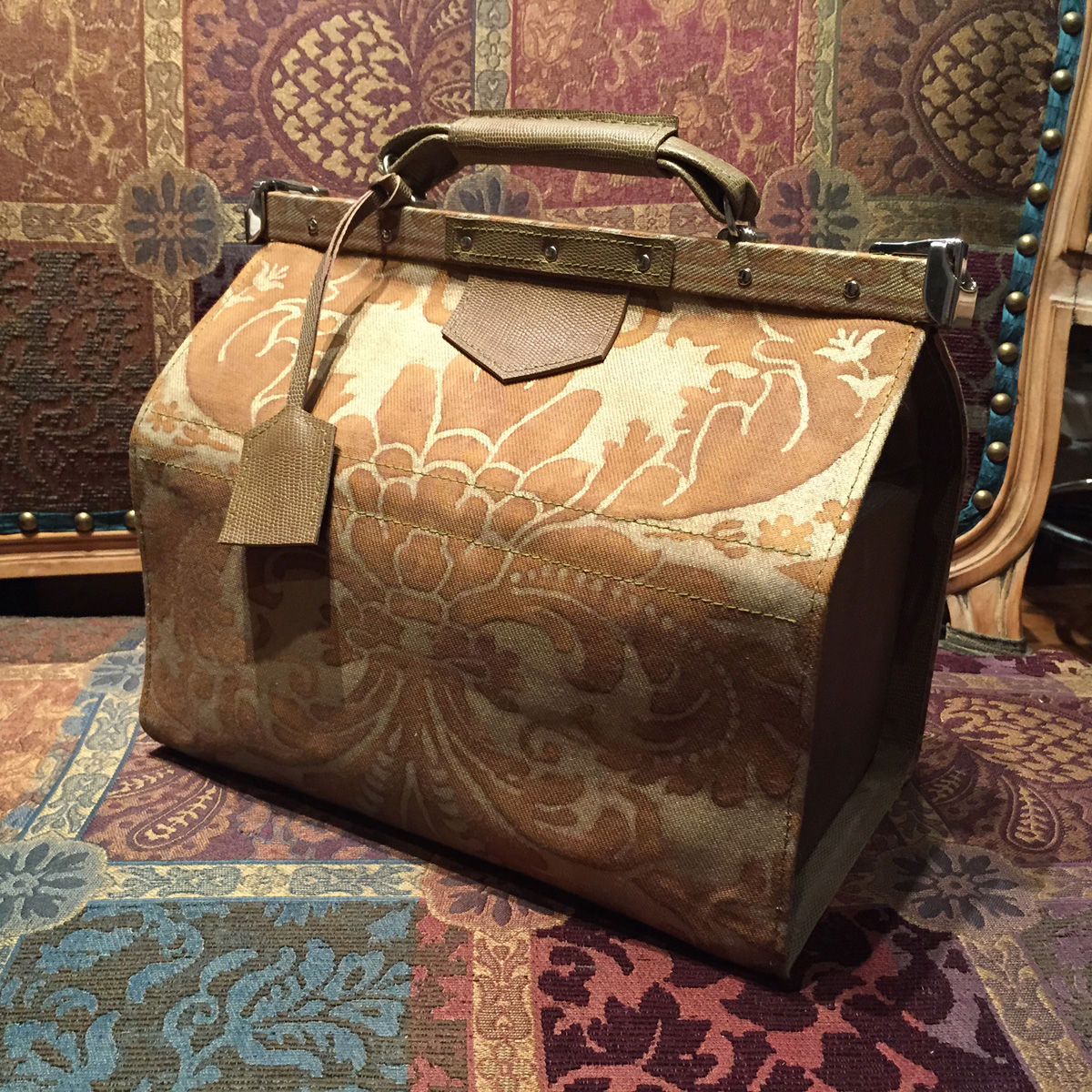Fortuny Gladstone bag how to
