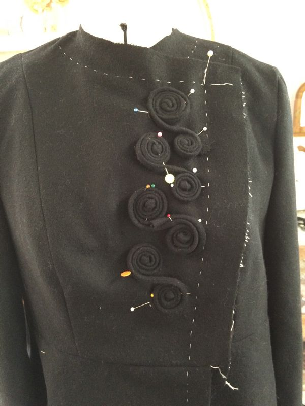 student inspiration wool jacket