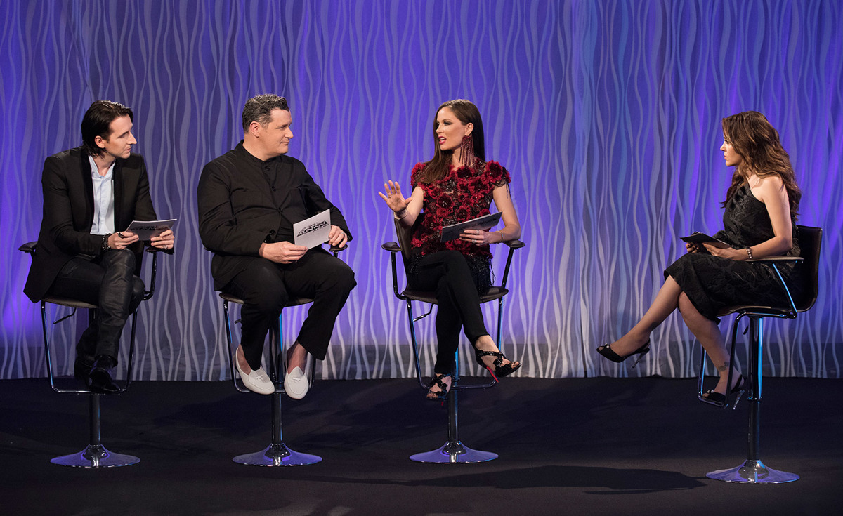 Project Runway All Stars, Season 5 E1 judges