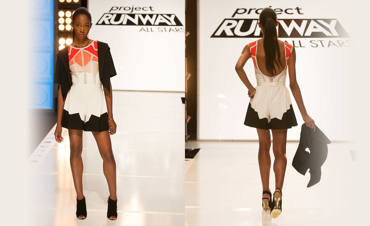 Project Runway All Stars, Season 5 E1 Valerie winner