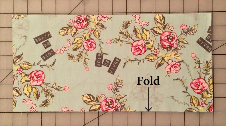 Folded pocket