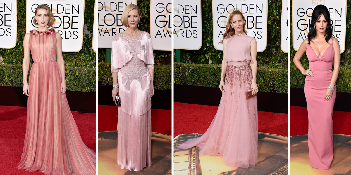 golden globes 2016 fashion trend blush pink