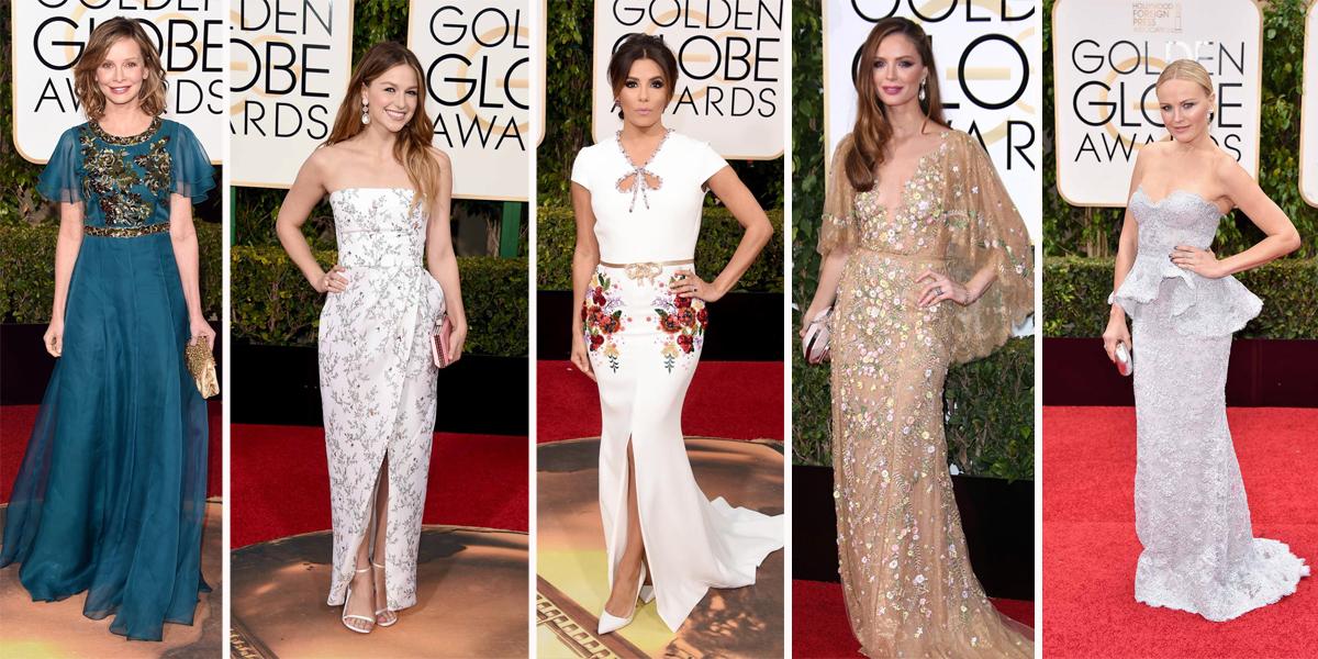 golden globes 2016 embellished dresseds