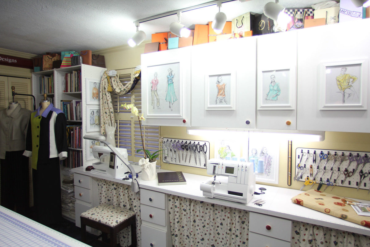 Sewing Room Designs: 9 Ideas To Decorate Your Sewing Room