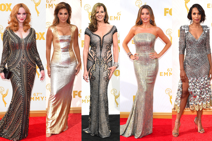 2015 emmy awards fashion red carpet