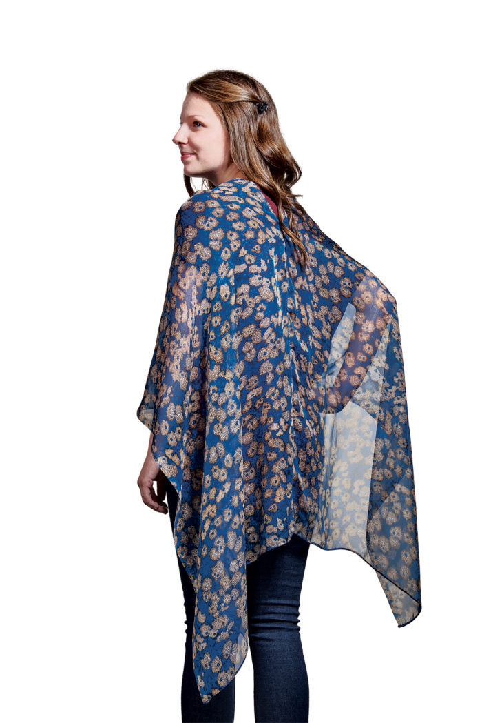 How To Sew A One Seam Poncho Threads