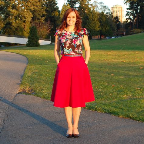Sewaholic Hollyburn Skirt