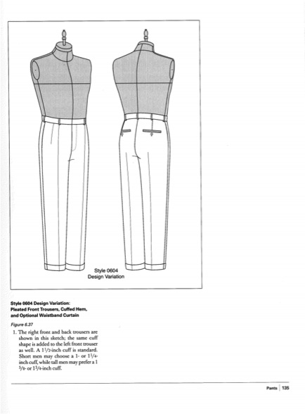Book Giveaway Practical Guide To Patternmaking For Fashion Designers Menswear Threads